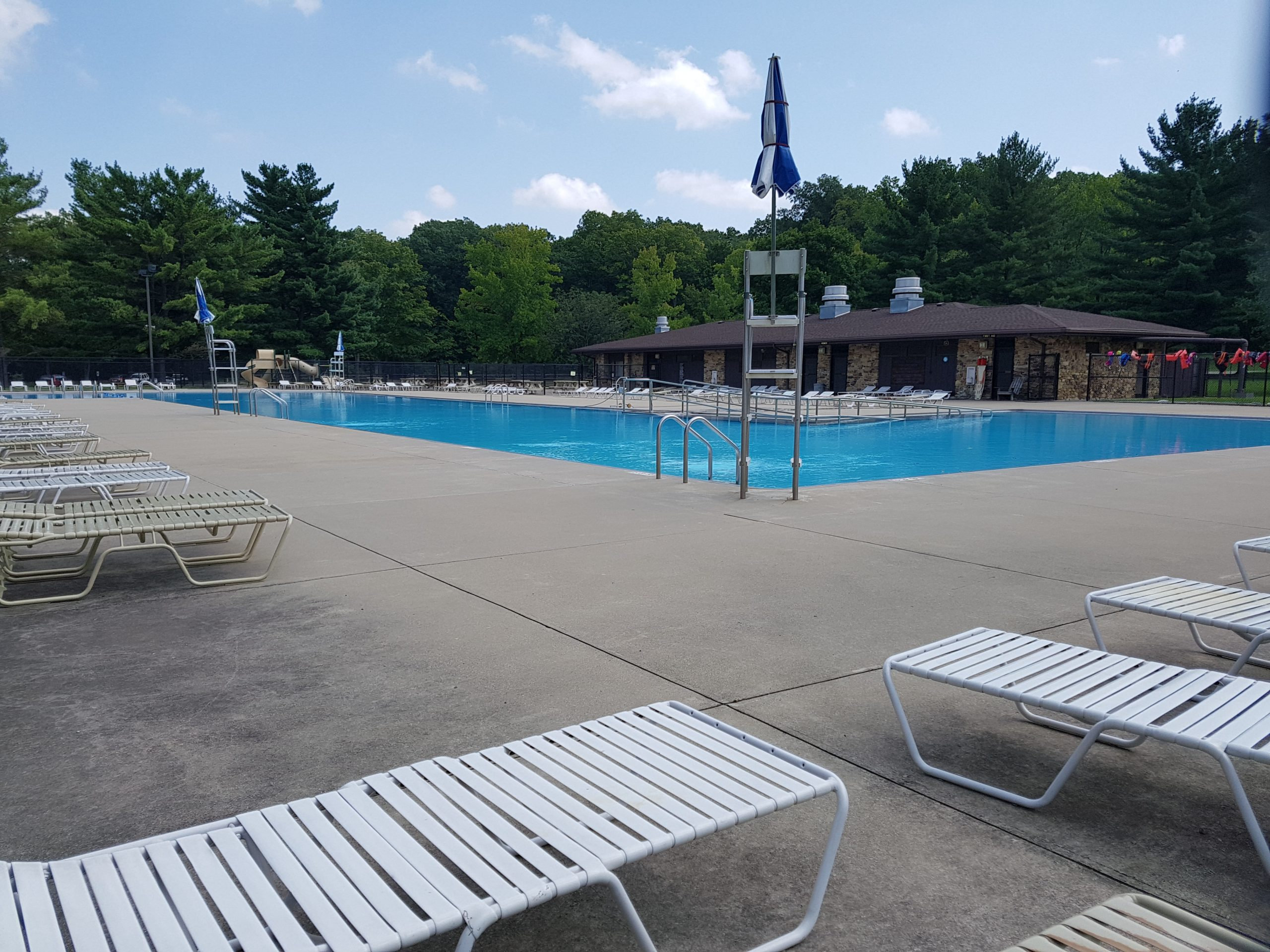 Outdoor Swimming Pool at Turkey Run State Park