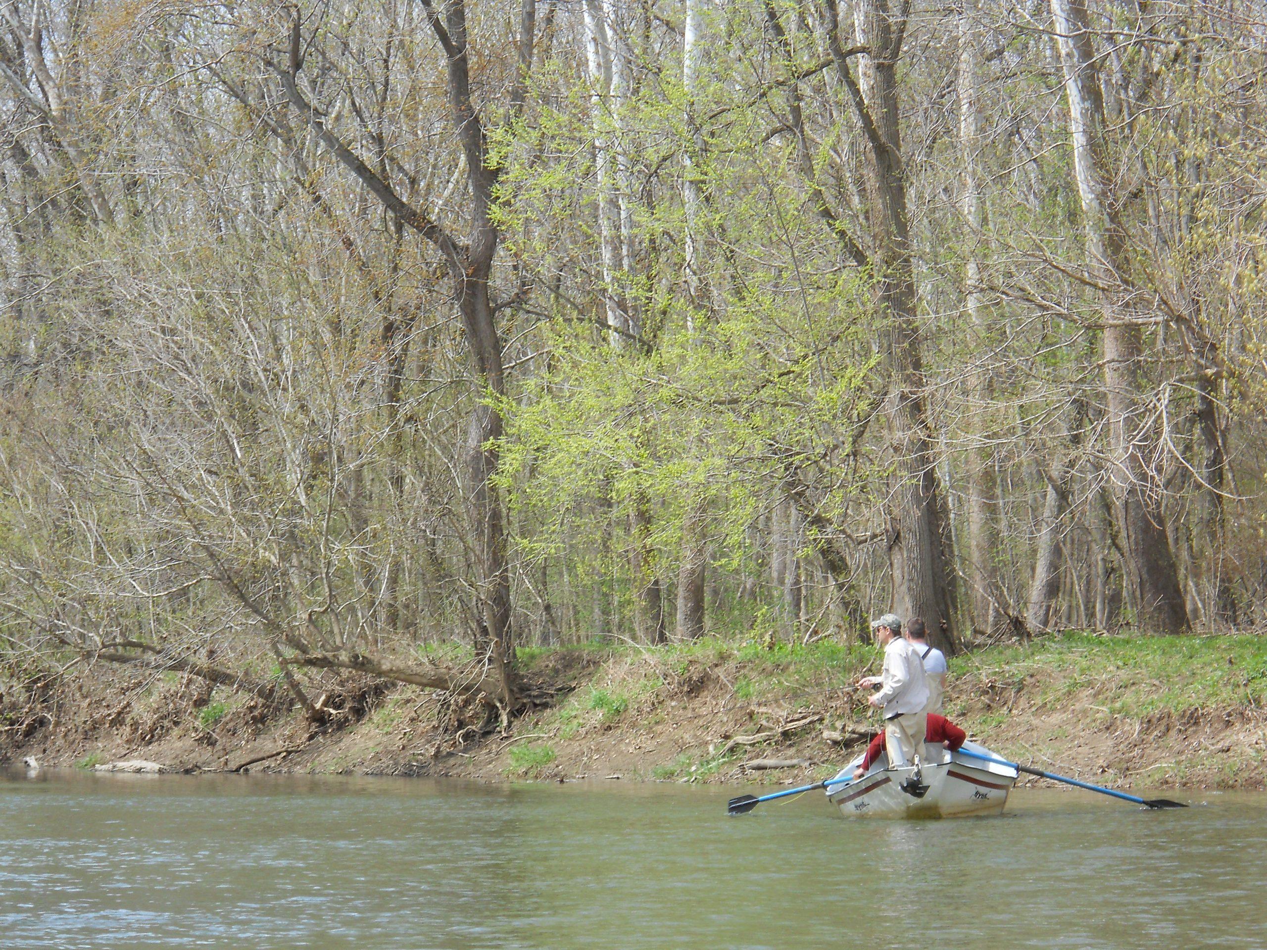 Fishing on Sugar Creek