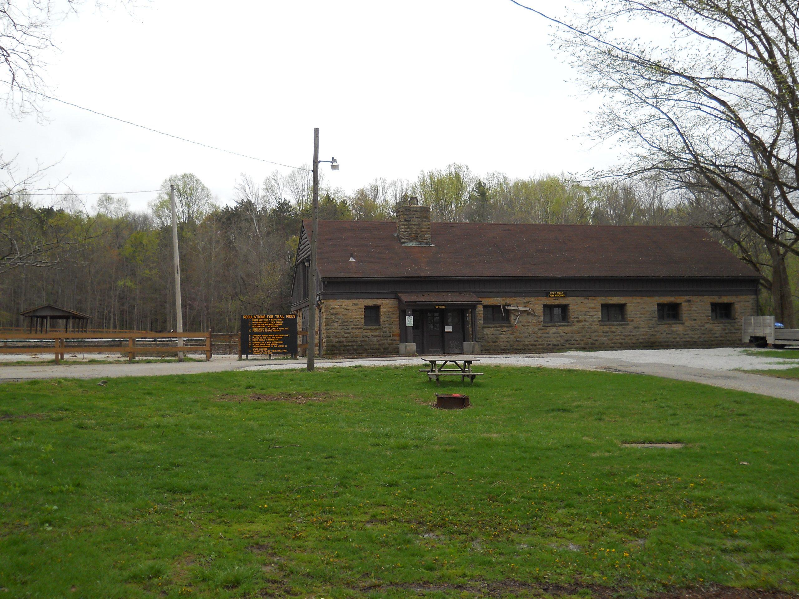 Saddle Barn at Turkey Run State Park