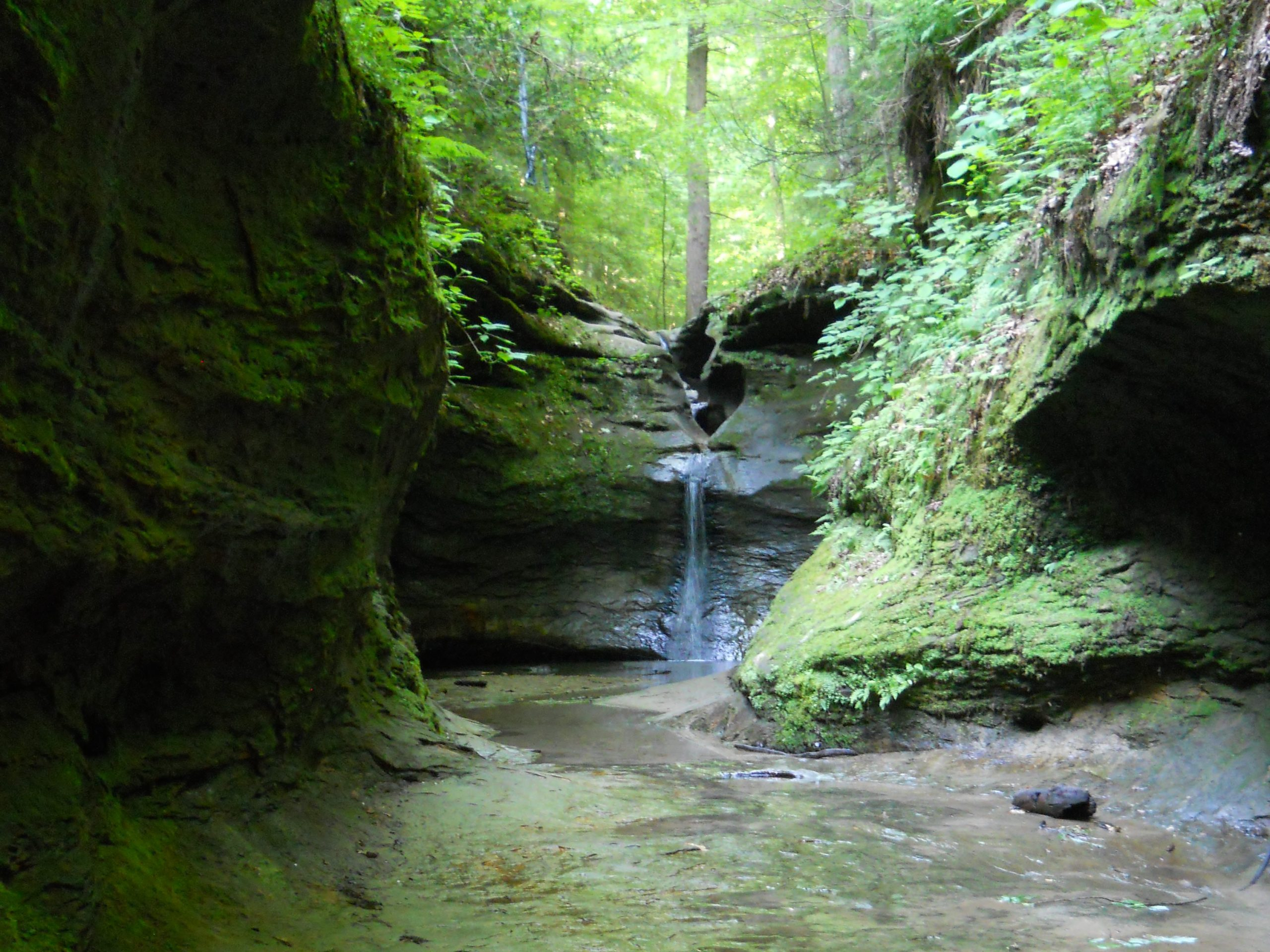 Punch Bowl at Turkey Run State Park